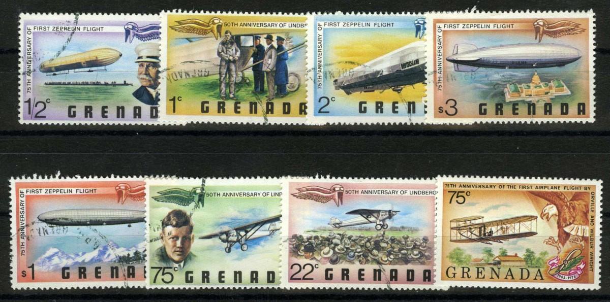 """1978. Гренада / Grenada. Набор """"Dirigeable"""". (//) [imp-11620] 1"""