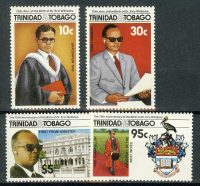 "1986. Тринидад и Тобаго / Trinidad and Tobago. Набор ""75th.Ann. of the Birth of Dr. Eric Williams"", ** [imp-11625] 10"