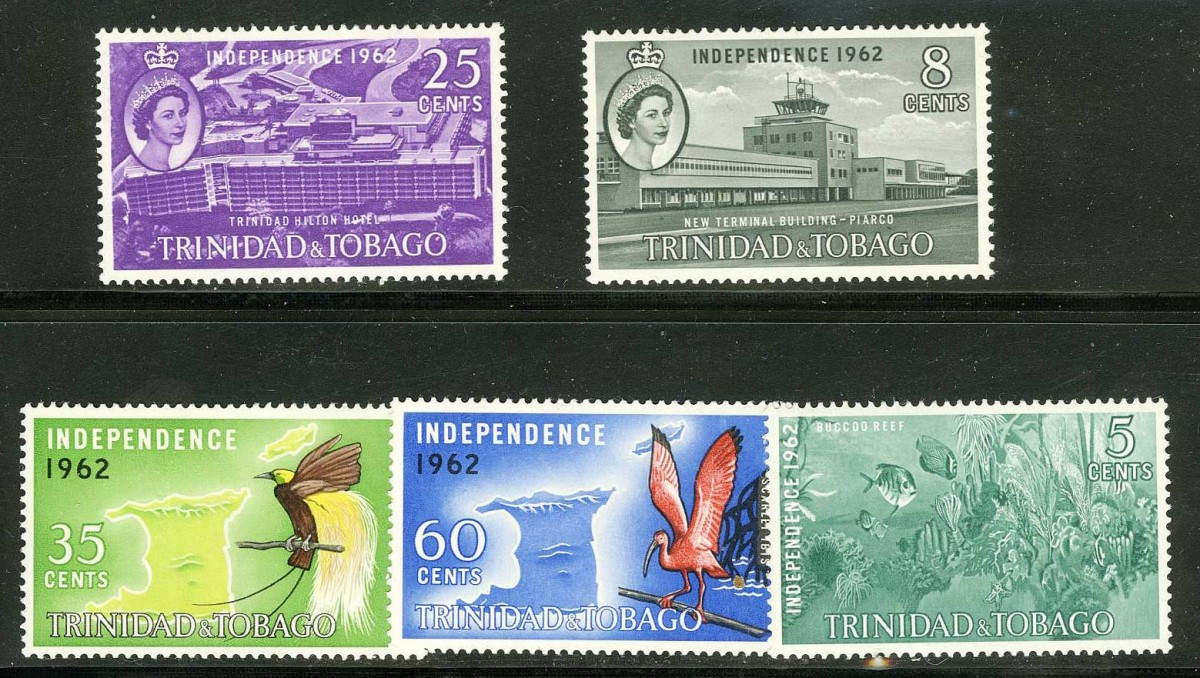 "1962. Тринидад и Тобаго / Trinidad and Tobago. Набор ""INDEPENDENCE 1962"", * [imp-11627] 1"