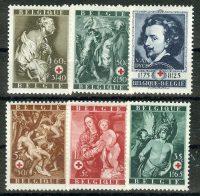 """1944. Бельгия / Belgium. Набор """"Религия"""". *I [imp-11638] 1"""