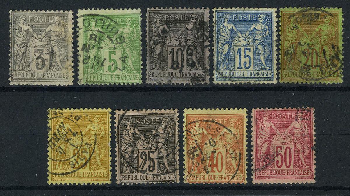 1876-1880. Франция / France. (•) [imp-11676] 1