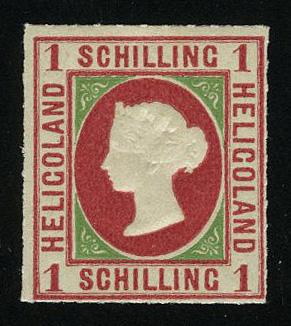 """1867. Германия / Helgoland. """"Королева Виктория"""" ** [imp-11684] 1"""