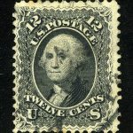 США. 1861 George Washington, 1732-1799, (•) [imp-7185] 2