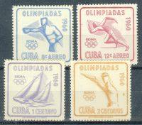 1960. Куба / Cuba.  Олимпийские игры, Рим. **  [imp-11724] 18