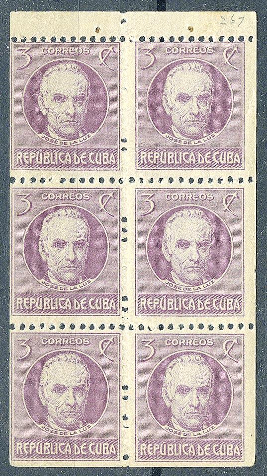 """1917. Куба / Cuba. Набор """"Политики. La Luz"""". Буклет, **  [imp-11726] 1"""