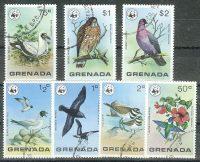 "1978. Гренада / Grenada. Набор WWF ""Птицы"". (//) [imp-11739] 1"