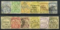 1885. Трансвааль. Южно-Африканская Республика. South African Republic Postage Stamps. 12 шт. (•) [imp-11761] 5