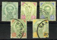 1887. Таиланд (Сиам), King Chulalongkorn, (•) [imp-11801_gt] 9