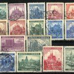 """1939-1941. Богемия и Моравия. Набор """"Local Motifs"""". 8 шт., * /  (•) [imp-11815_gt] 2"""