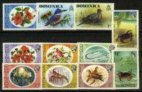 """Доминика. Набор """"Flora and Fauna"""", 11 шт., * [imp-11828] 24"""