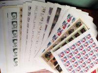 1998. Годовой набор художественных марок в листах 19