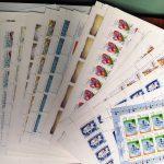 2001. Годовой набор художественных марок в листах 2