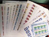 2001. Годовой набор художественных марок в листах 16
