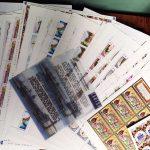 2001. Годовой набор художественных марок в листах 3