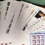 2002. Годовой набор художественных марок в листах 2