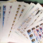 2006. Годовой набор художественных марок в листах 3