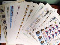 2005. Годовой набор художественных марок в листах 12