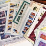 2014. Годовой набор художественных марок в листах 3