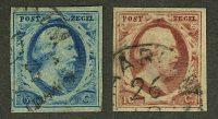 "1852. Голландия / Holland. ""King William III of the Netherlands"", (•) [imp-11884_gt] 4"