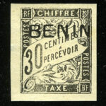 "1894. Бенин. ""French colonies - BENIN"", * [imp-11896_gt] 2"