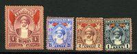 """1899-1901. Занзибар. Набор """"Sultan Hammud bin Muhammad"""", 4 м., *I/*II [imp-11937_gt] 3"""