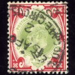 "1902. Великобритания. ""King Edward VII"", (•)I [imp-11963] 3"