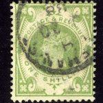 "1902. Великобритания. ""King Edward VII"", (•)I [imp-11973] 3"