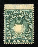 "1895. Британская Восточная Африка. ""Light and Liberty"", *II [imp-11984] 24"
