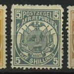 "1885. Трансвааль. Южно-Африканская Республика. ""South African Republic Postage Stamps"", 5 м. **I [imp-13022_gt] 2"