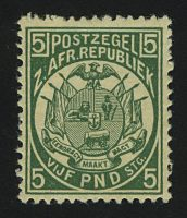 "1895. Трансвааль. Южно-Африканская Республика. ""South African Republic Postage Stamps"", *II [imp-13024_gt] 2"