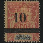 "1907-10. Марокко. ""Great Britain Postage Stamps ""MOROCCO AGENCIES"", * [imp-13027_gt] 2"