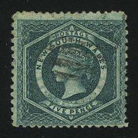 1860. Новый Южный Уэльс. Queen Victoria. (•) [imp-13034] 3