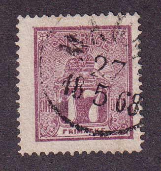 1862-1866 Швеция. Лев [imp-12004_gt] 1