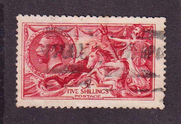 1913 Великобритания. Король Георг V. 5 шиллингов [imp-12007_gt] 1