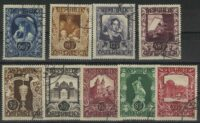 "1947. Австрия / Österreich. Набор ""Art Exhibition"", 9/10 (•) [imp-13082] 6"