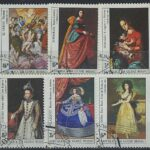 "1983. Гвинея-Бисау. Серия ""The 500th Anniversary of the Birth of Raphael, Artist, 1483-1520"". 6/7, (//) [imp-13110] 3"