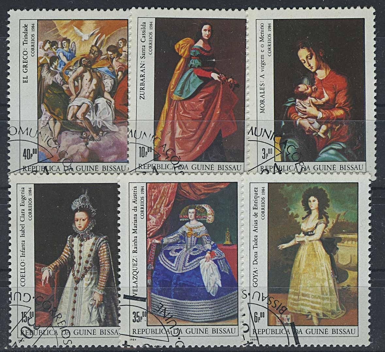 "1984. Гвинея-Бисау. Серия ""International Stamp Exhibition ""Espana '84"" - Madrid, Spain"". 6/7, (//) [imp-13109] 1"