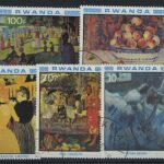"1969, 1975. Руанда. Набор ""International Women's Year"", ""Musical Motifs in the 15th-20th Century Paintings"", ** [imp-13113] 2"