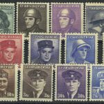 "1949. Чехословакия.  Серия ""The 75th Anniversary of the Universal Postal Union(UPU)"". *I [imp-13130] 2"