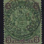 """1899-08. Британская Южно-Африканская Компания. Набор """"Coat of Arms"""", * (•) [imp-13180] 2"""