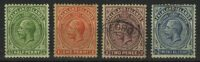"""1912-29. Фолклендские острова. """"King Edward VII"""", *II (•) [imp-13193] 6"""