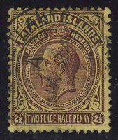 """1904-07. Фолклендские острова. """"King Edward VII"""", (•)II [imp-13195] 5"""