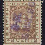"1881. Британская Гвиана. ""Sailing Ship ""Sandbach"", *II [imp-13204] 2"