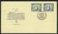 "1949. Чехословакия. КПД ""The 125th Anniversary of the Birth of Bedzih Smetana(1824-1884)"" (//) [imp-13316] 12"