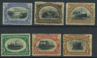 "1901. США / USA. Серия ""Pan-American Exposition Issue"", 6/6, *I [imp-13247] 6"