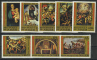 "1983. Нигер. Серия ""The 500th Anniversary of the Birth of Raphael, 1483-1520"", 8/8, ** [imp-13251_fl] 1"