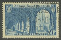 1951. Франция. Abbey of Saint Wandrille, (•) [imp-888] 6