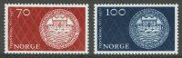 1971. Норвегия. The 1100th anniversary of Tønsberg, ** [imp-568-569] 12