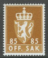 1973. Норвегия. OFF. SAK, ** [imp-091] 4