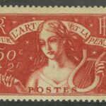 1940. Франция. Charity Stamp, * [imp-451-452] 3